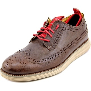 Cole Haan Original Grand Lwing Round Toe Leather Oxford