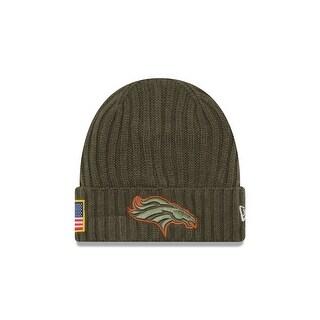 Denver Broncos 2017 Salute to Service Knit Hat