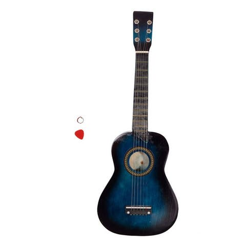 "25"" Acoustic Guitar Pick String 7 Colors"
