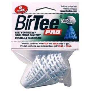 Proactive Sports DBT300 Bir Tee Pro - White, Pack of 8