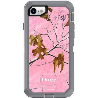OtterBox Defender Case For iPhone 8 & iPhone 7, Non-retail Packaging, Pink Camo - real tree extra