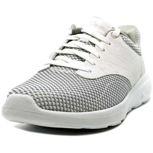 Skechers On The Go City 2 Women Round Toe Canvas White Walking Shoe