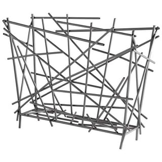 Cyan Design Pick Up Sticks Magazine Holder Pick Up Sticks 15.75 Inch Tall Iron Magazine Rack