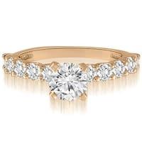 2.00 cttw. 14K Rose Gold Round Cut Diamond Engagement Ring