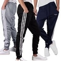 Mens Casual Running Tracksuit Jogging Pants Training Pullon Trousers