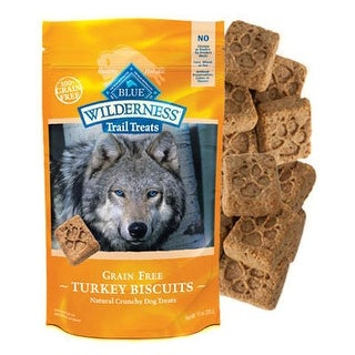 Blue Buffalo Wilderness Trail Treats Turkey Biscuits 10 oz