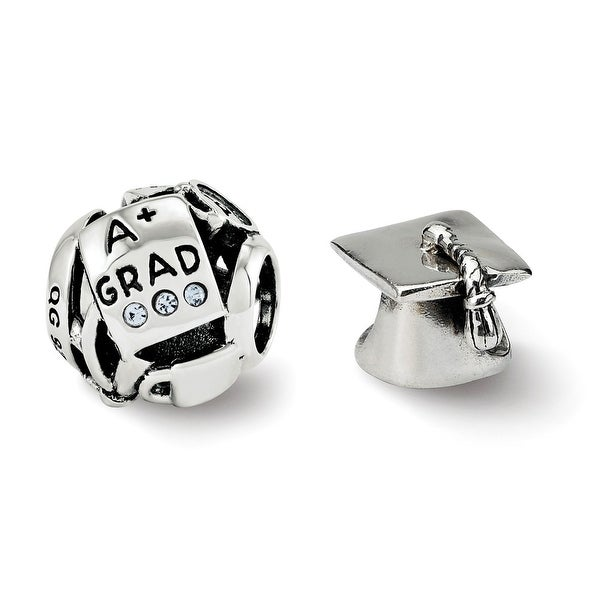 Sterling Silver Reflections Graduation Boxed Bead Set (4.5mm Diameter Hole)