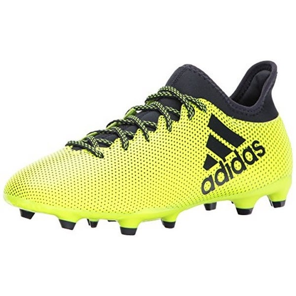 Adidas Mens X 17.3 Fg, Yellow/Ink/Ink