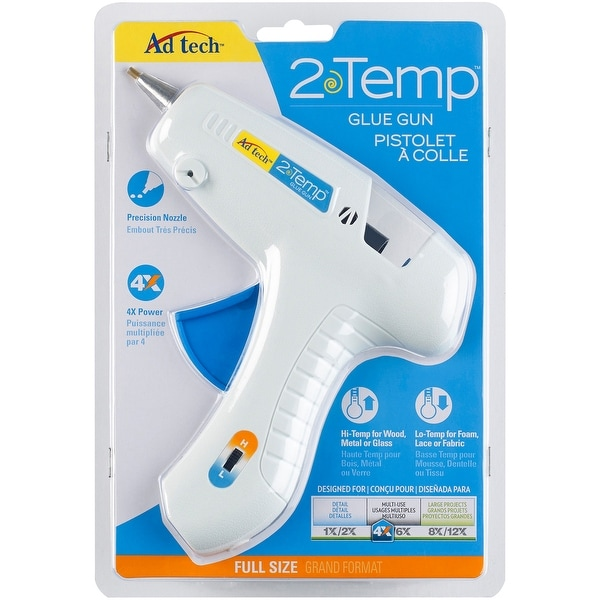 Multi-Temp Glue Gun-White - White