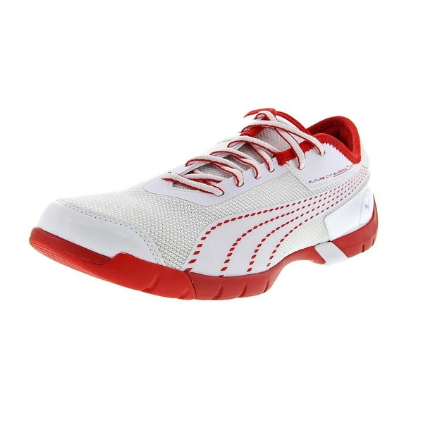 Puma Future Cat Super LT Men white-white-flame scarlet Running Shoes