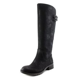 Very Volatile Mira Women  Round Toe Leather  Knee High Boot