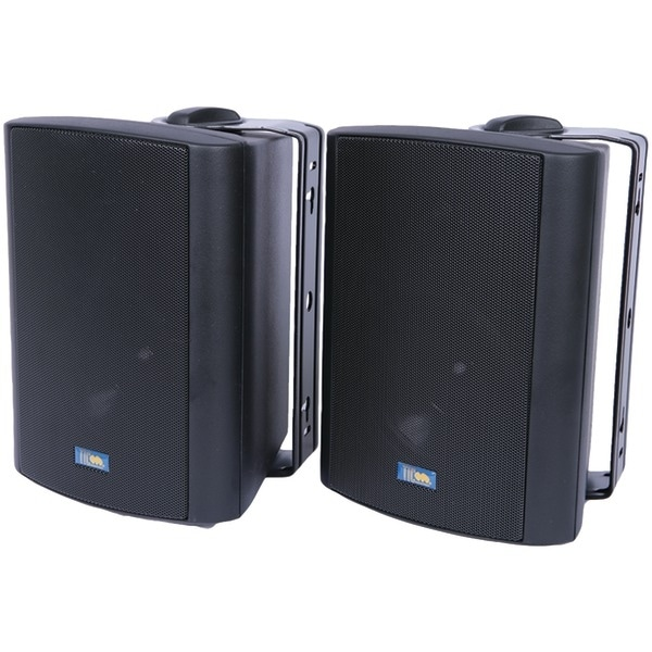Tic Corporation Asp60B Indoor/Outdoor 75-Watt Speakers With 70 Volt Switching (Black)