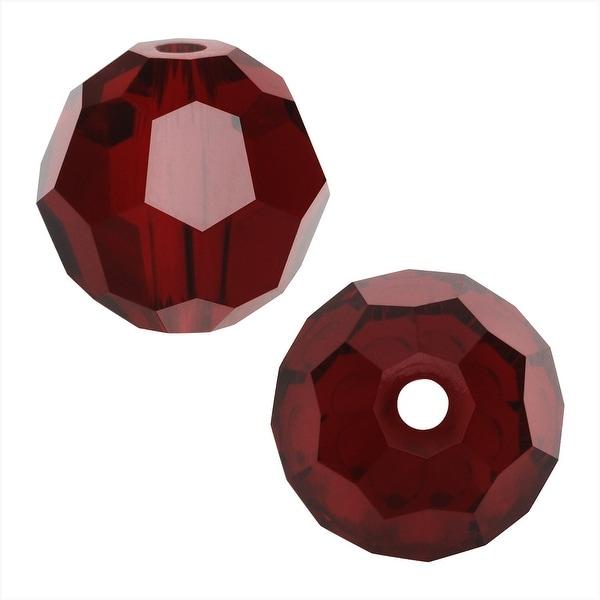Swarovski Elements Crystal, 5000 Round Beads 8mm, 8 Pieces, Siam