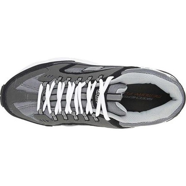 Shop Skechers Men's Stamina Cutback Training Shoe Charcoal