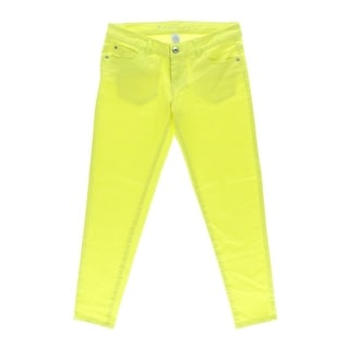 Celebrity Pink Womens Juniors Ankle Pants Twill Colored - 11