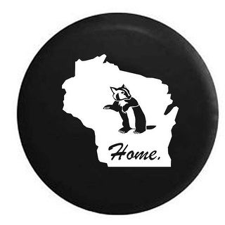 Spare Tire Cover Wisconsin Badger Home State Edition