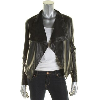 BB Dakota Womens Jacket Pleather Non-Vented