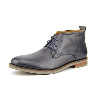 Cole Haan Charles Chukka.II Men Round Toe Leather Blue Chukka Boot