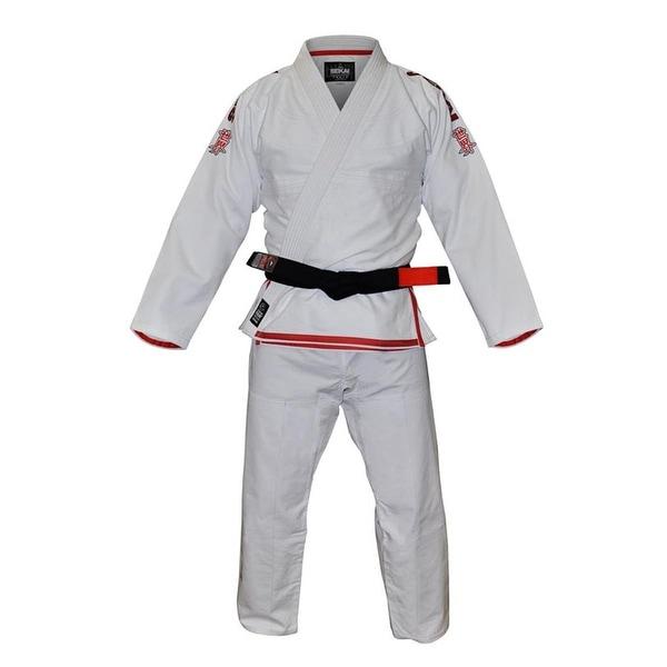 Shop Fuji Sekai BJJ Gi - White/Red - a1 - Free Shipping