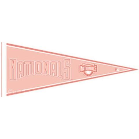 Washington Nationals Pennant - Pink - 12 x 30
