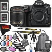 Nikon D850 DSLR Camera (Body Only) 1585 International Model + Nikon AF-S NIKKOR 28mm f/1.8G Lens Bundle