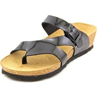 Spring Step Rauna Open Toe Leather Wedge Sandal