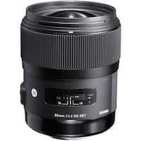 Sigma 35mm f/1.4 DG HSM Art Lens for Canon DSLR Cameras (International Model)