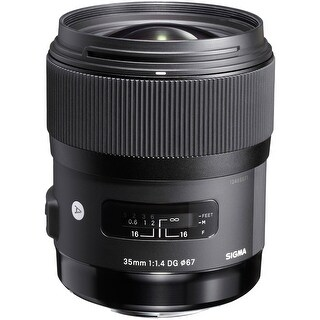 Sigma 35mm f/1.4 DG HSM Art Lens for Canon DSLR Cameras (International Model)