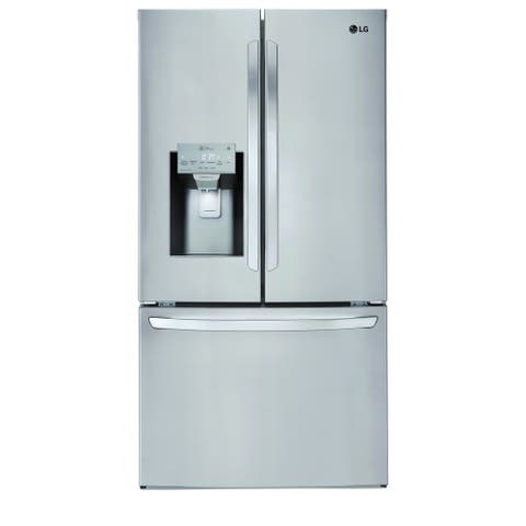 LG LFXS26973S 26 cu. ft. Smart wi-fi Enabled French Door Refrigerator Stainless Steel 1 - Year Extended Warranty