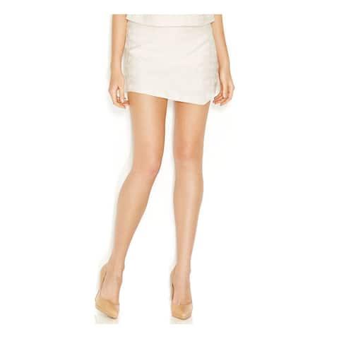 KENSIE Womens Ivory Short Size: S