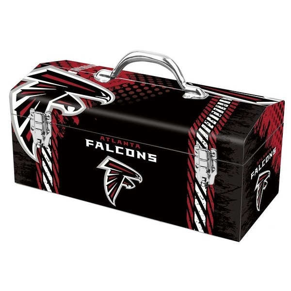 Sainty 79-302 Atlanta Falcons NFL Tool Box, 10""