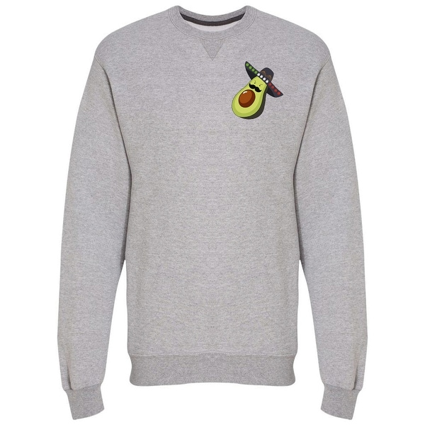 ab0120c235c0c Shop Angry Mariachi Avocado Men's Sweatshirt - Free Shipping On Orders Over  $45 - Overstock - 25635855