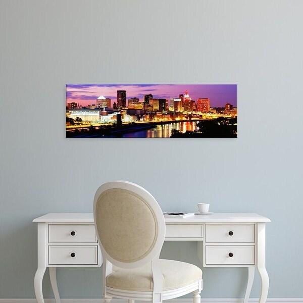 Easy Art Prints Panoramic Images's 'St Paul, Minnesota, USA' Premium Canvas Art