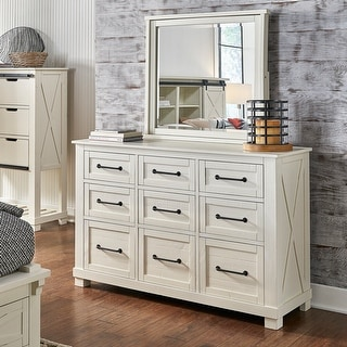 Link to Simply Solid Shanna Solid Wood 9-drawer Dresser Similar Items in Bedroom Furniture