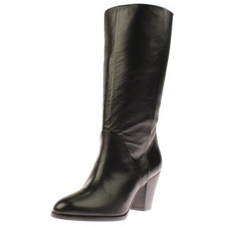 Plomo Womens Diana Mid-Calf Boots Leather