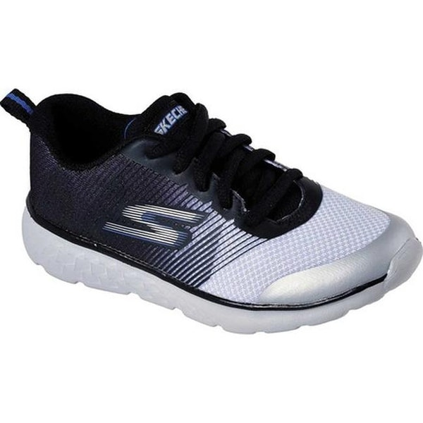 4a68aa233d25 Shop Skechers Boys  GOrun 400 Fast Pace Running Shoe Black Gray ...