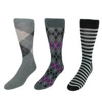 Parquet Men's Dress Sock Gift Box Set (3 Pair Pack)