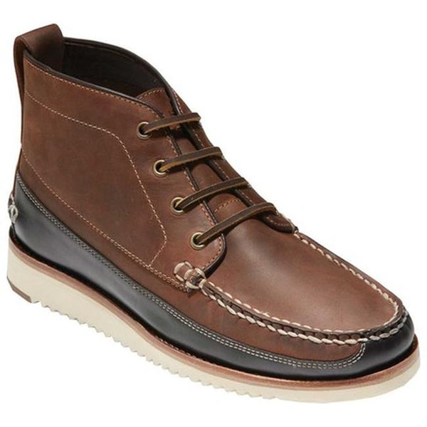 Men Cole Haan Pinch Rugged Chukka Ankle Waterproof Boots Cole Haan Grand OS NEW