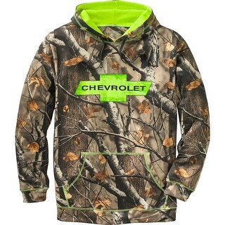 Legendary Whitetails Men's Big Game Camo Chevy Mudder Hoodie