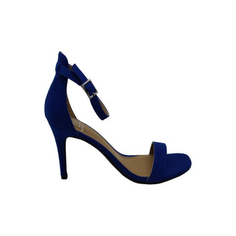 Material Girl Womens MBlaire Open Toe Ankle Strap Classic Pumps
