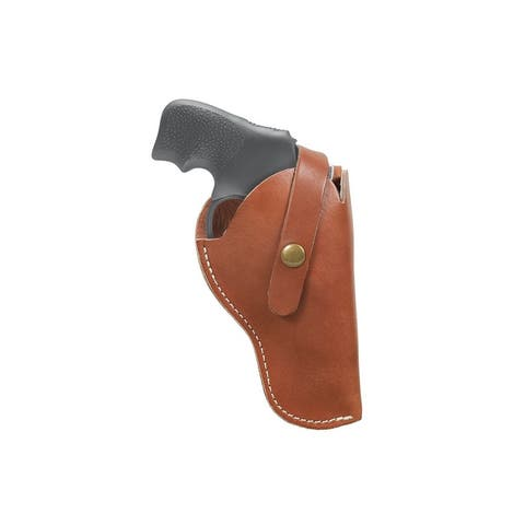 "Allen Holster Red Mesa Leather Pistol Hip Carry 6.5"" Brown"