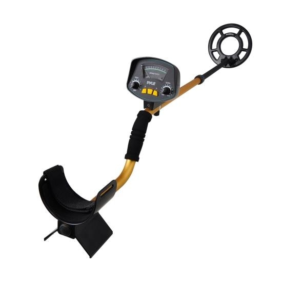 Metal Detector, Waterproof Search Coil, Pin-Point Detect, Adjustable Sensitivity, Headphone Jack