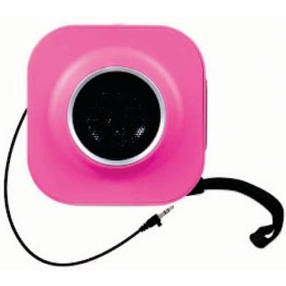 iSound GoSound Square Speakers Pink