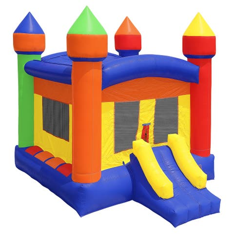 Commercial Castle Bounce House with Blower by Cloud 9