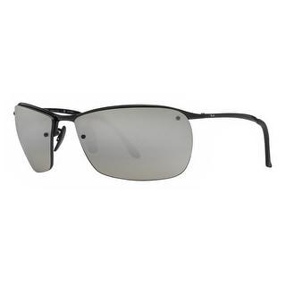 2d22fb2364d ... coupon code ray ban rb3544 002 5j black silver mirror chromance  polarized sport sunglasses 64mm 4fe77