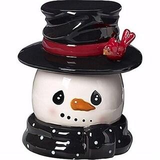 Precious Moments 19002X 10 in. Snowman Cookie Jar
