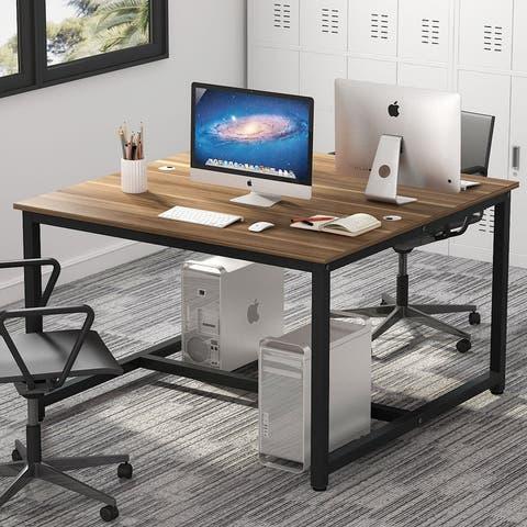 47 inch Computer Desk Two Person Desk