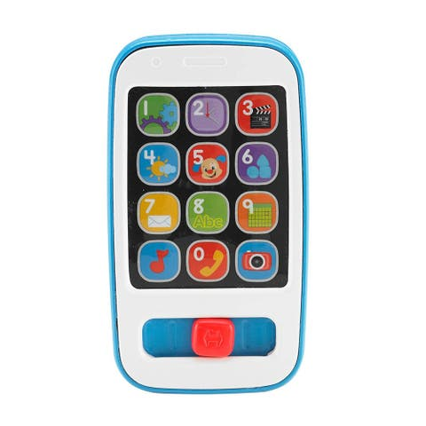 Fisher Price Laugh and Learn Musical Smart Phone, Blue, 6-36 Months - Blue