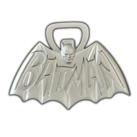 "Batman 1966 TV Logo 4"" Metal Bottle Opener - Multi"