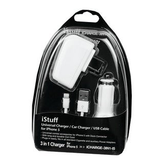 iStuff 3 in 1 charger for iPhone 5